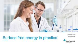 surface free energy measurement in practice