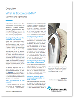 What is Biocompatibility